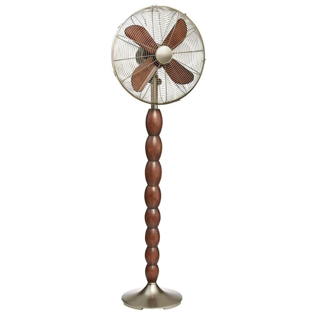 Deco Breeze 16 in. Encircle Floor Fan, Beige/Ivory