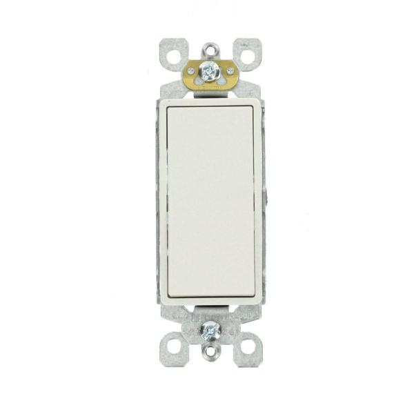 Decora 15 Amp 3-Way Switch, 4-Pack, White