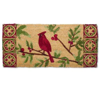 Estate Cardinal 18 in. x 40 in. Coir Mat