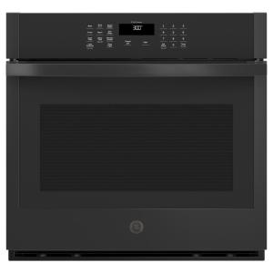 30 in. Smart Single Electric Wall Oven Self-Cleaning in Black