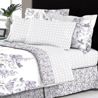 Freida Reversible 6-Piece Multicolored Floral Twin Bed in a Bag Set