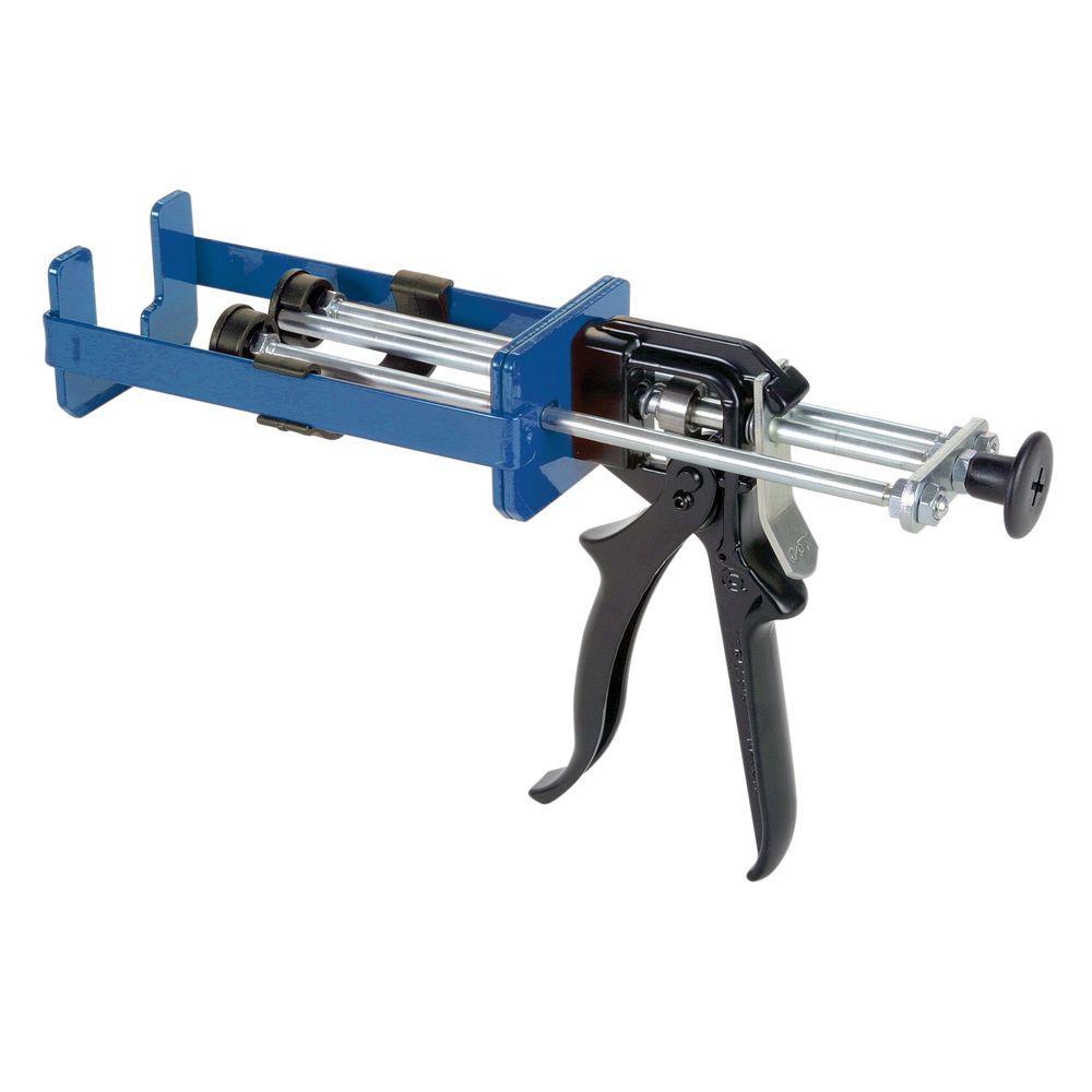 COX 100 ml x 100 ml Dual Cartridge Extra Thrust Epoxy Applicator Gun