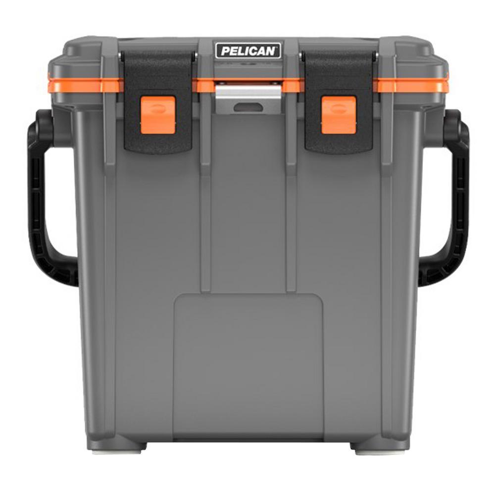 20 qt  Elite Cooler Gray/Orange