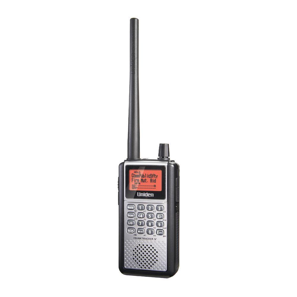 Uniden Handheld Advanced Scanner Digital Trunk Tracker IV