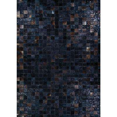 Chalet Celestial Night Sky 5 ft. x 8 ft. Area Rug