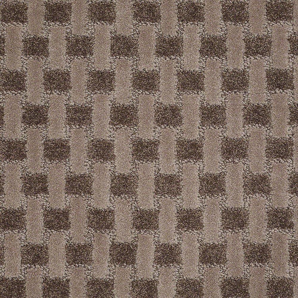 Carpet Sample - King's Cross - In Color Deer Tracks 8 in. x 8 in.