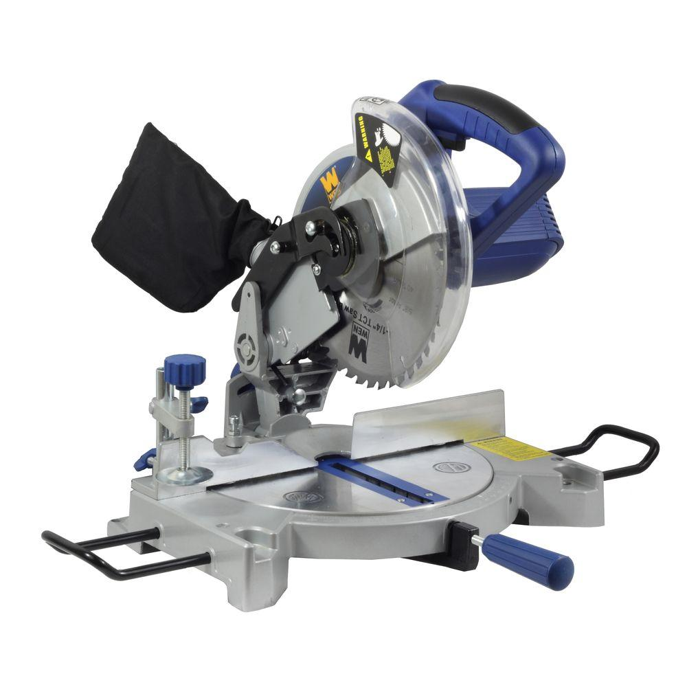 WEN 8.5-Amp 8-1/4 in. Compound Miter Saw