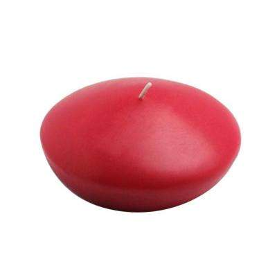 4 in. Red Floating Candles (Box of 3)