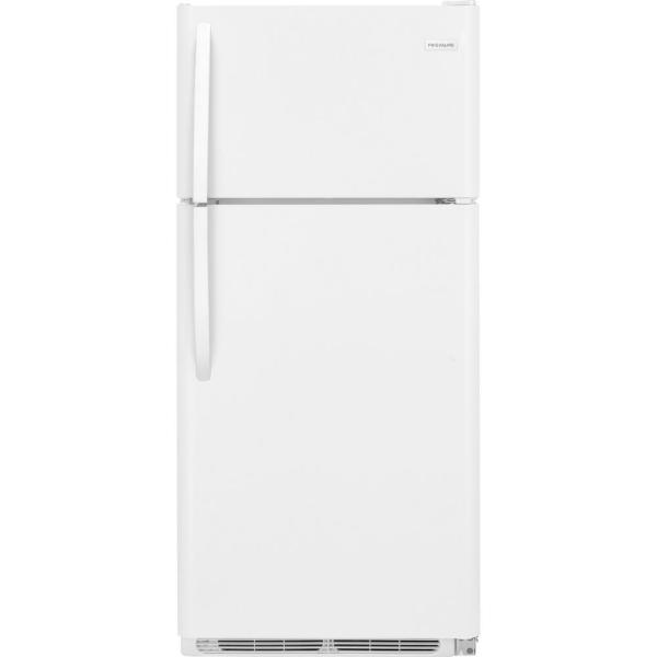 18 cu. ft. Top Freezer Refrigerator in White