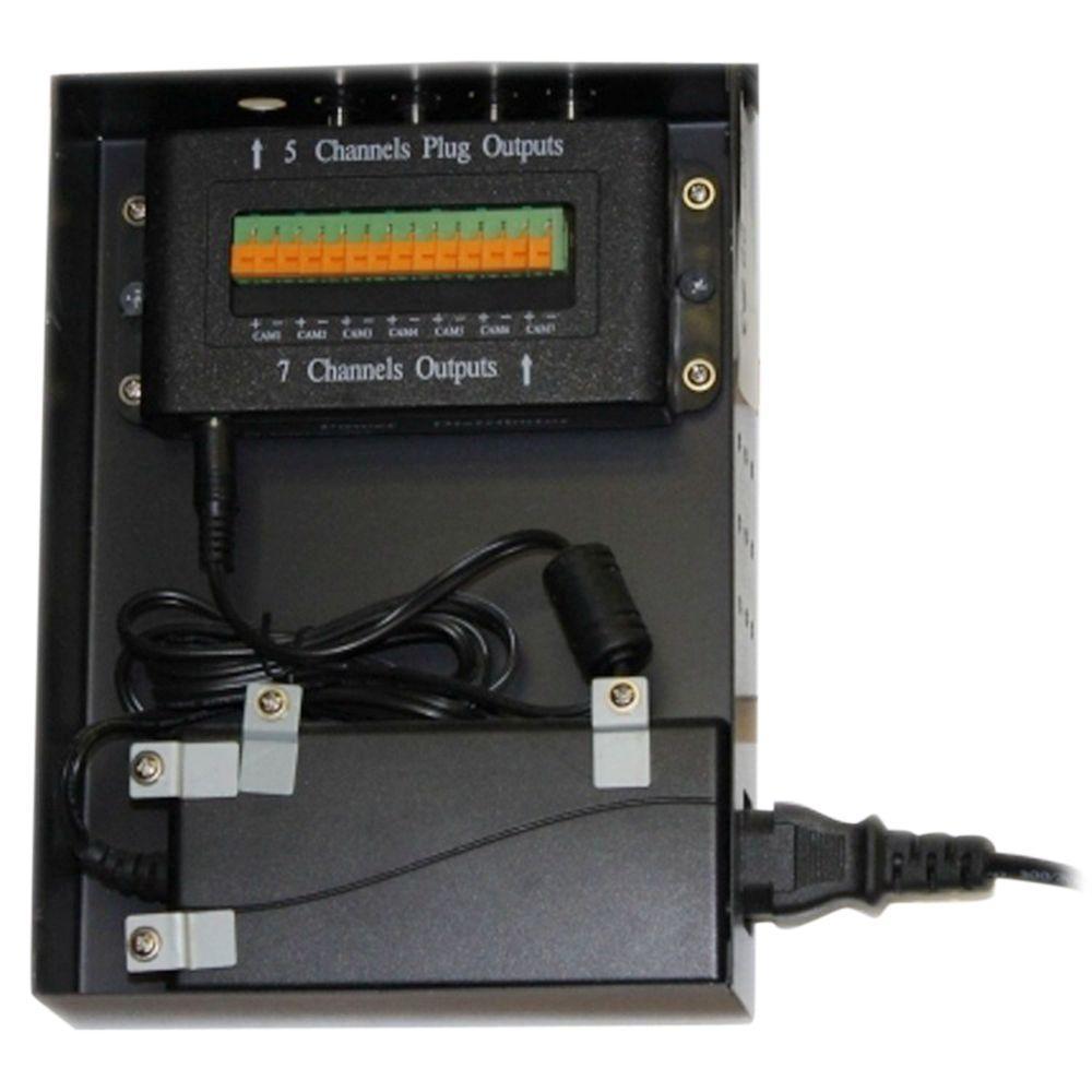 SeqCam Power Supply Distributor
