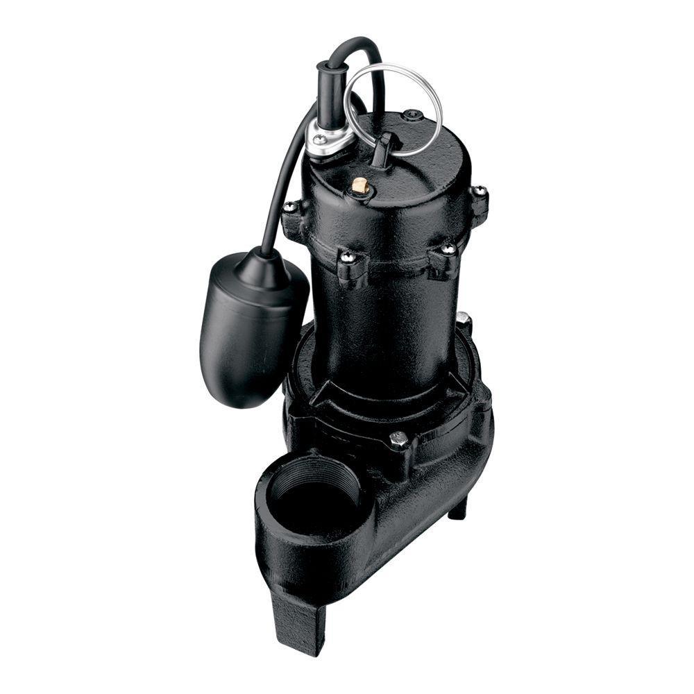Flotec 1/2 HP Cast Iron Sewage Pump-DISCONTINUED