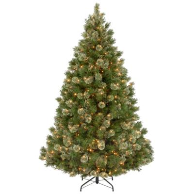 7-1/2 ft. Wispy Willow Grande Medium Hinged Artificial Christmas Tree with 750 Clear Lights