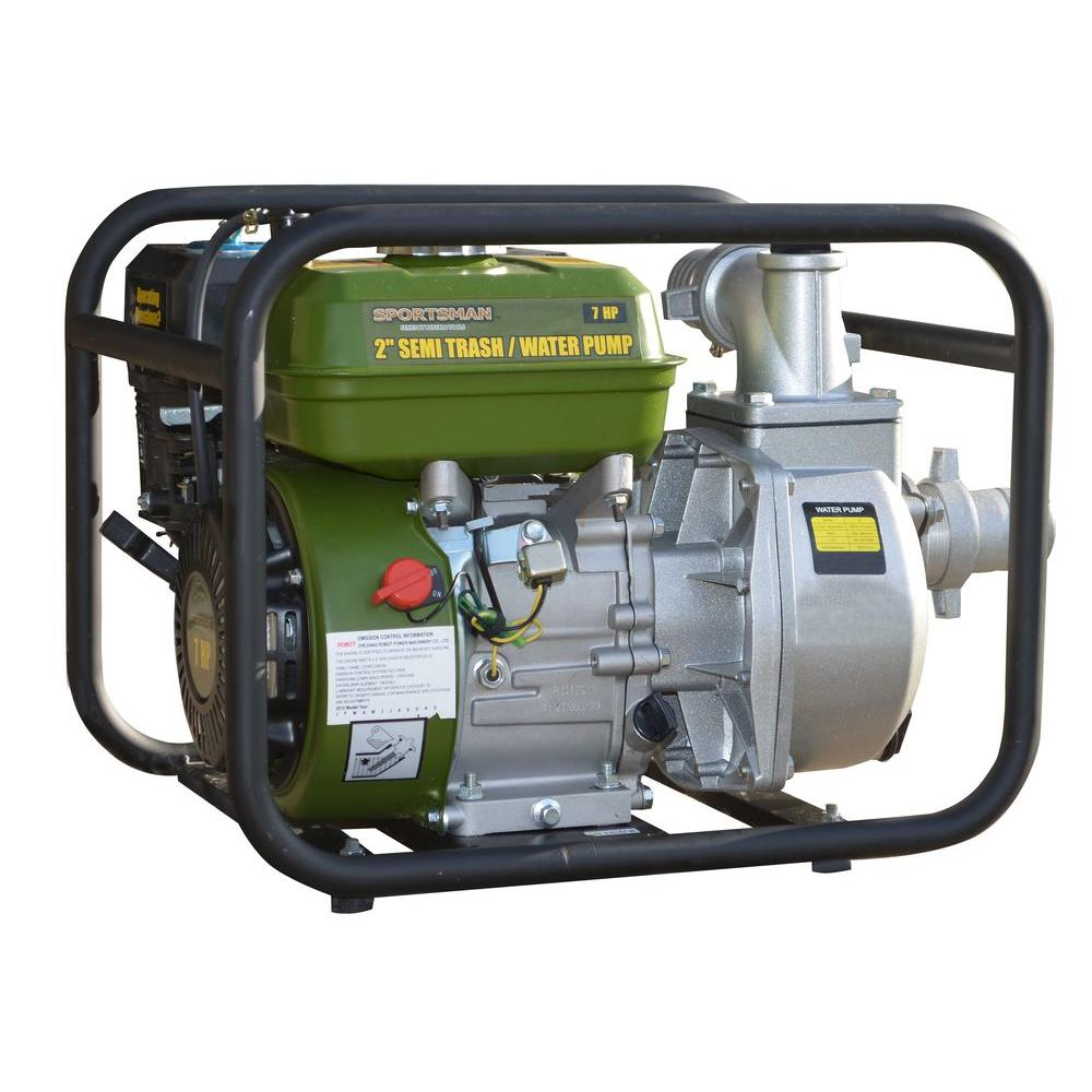 Sportsman 7 HP Gas-Powered 2 in. Utility Water Pump