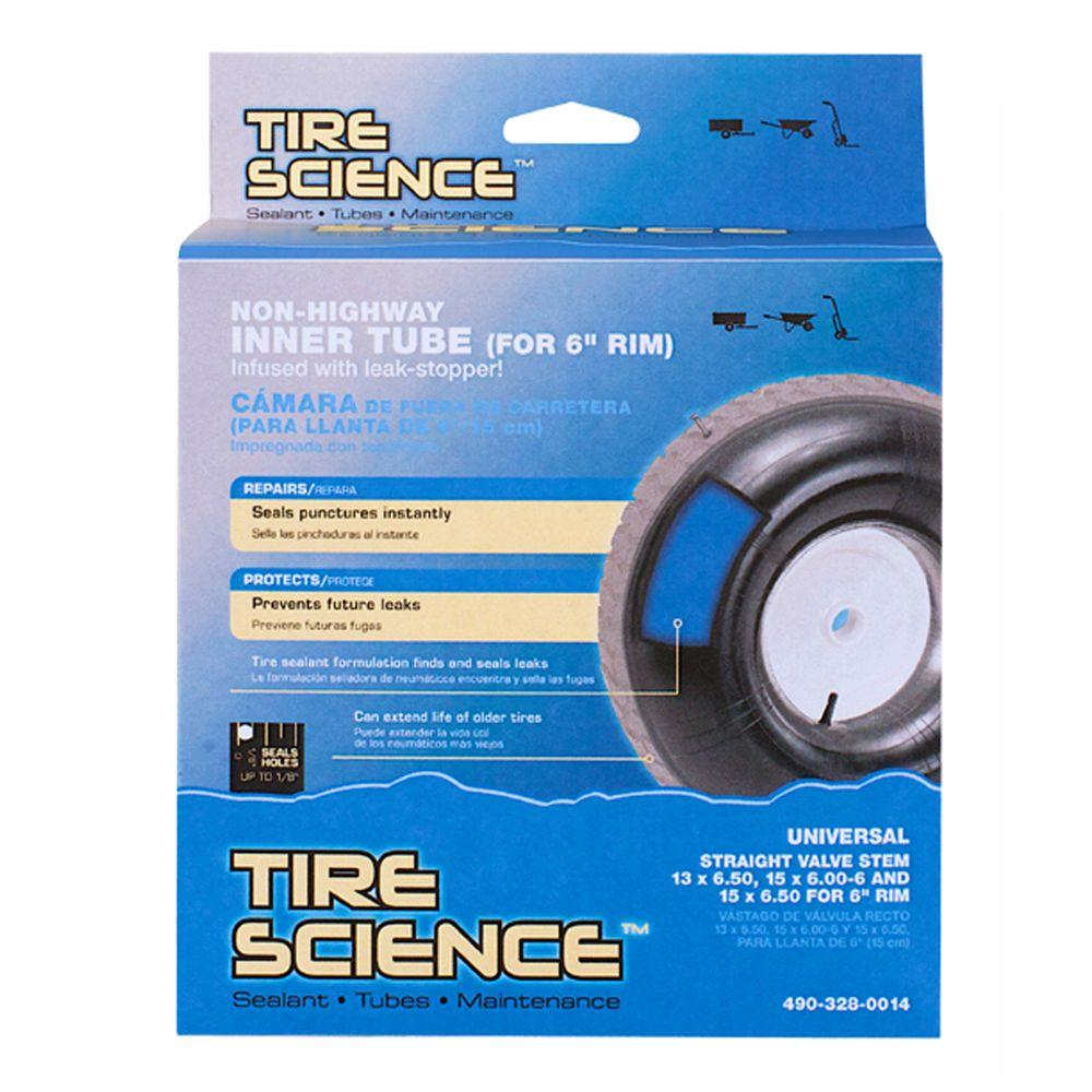 15 in. Tractor Tube with Sealant for 6 in. Rim