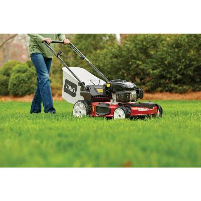22 in. Kohler High Wheel Variable Speed Gas Walk Behind Self Propelled Lawn Mower