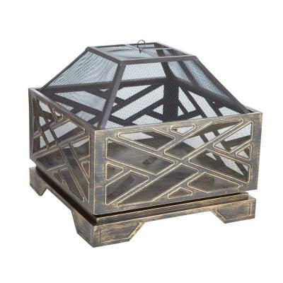 Catalano 26 in. Square Steel Fire Pit