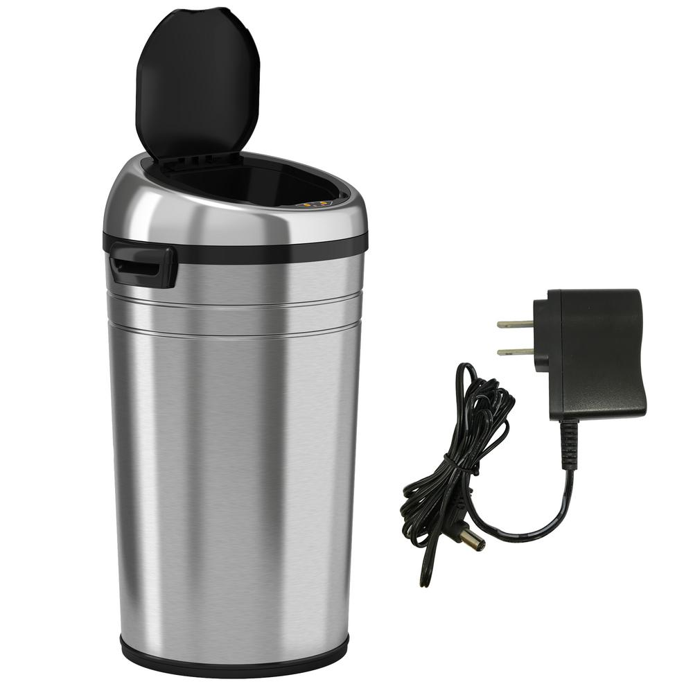 23 Gal  Stainless Steel Motion Sensing Touchless Trash Can