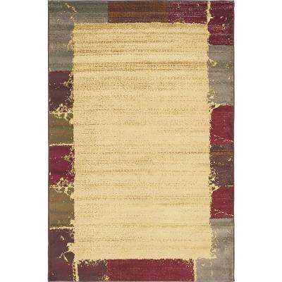 Barista Cream 5 ft. x 8 ft. Area Rug