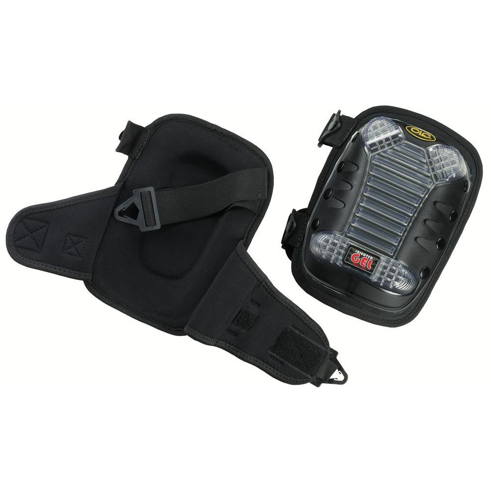 Custom Leathercraft Injected Gel Knee Pads With Removable