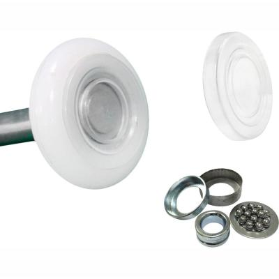 Ultra-Seal 2 in. Nylon Garage Roller with Sealed 13-Ball Bearing and 4 in. Stem (10-Pack)