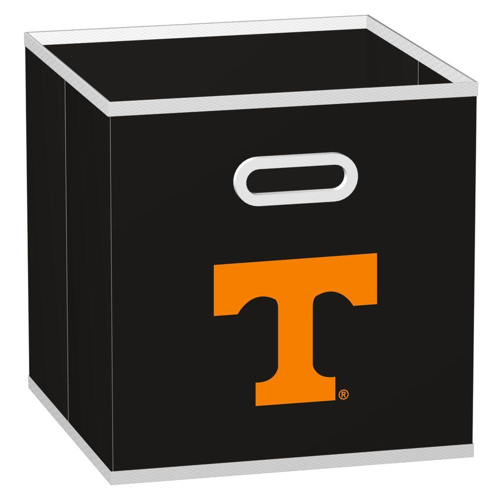 MyOwnersBox College Storeits University of Tennessee 10-1/2 in. x 11 in. Black Fabric Storage Drawer