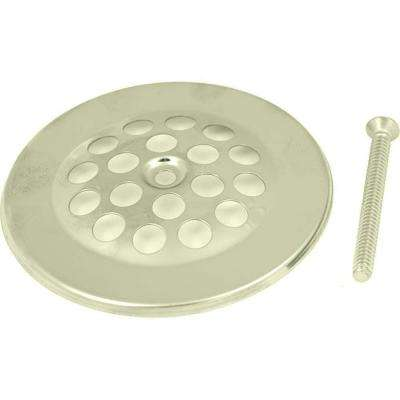 2-15/16 in. Shower Drain Strainer, Brushed Nickel