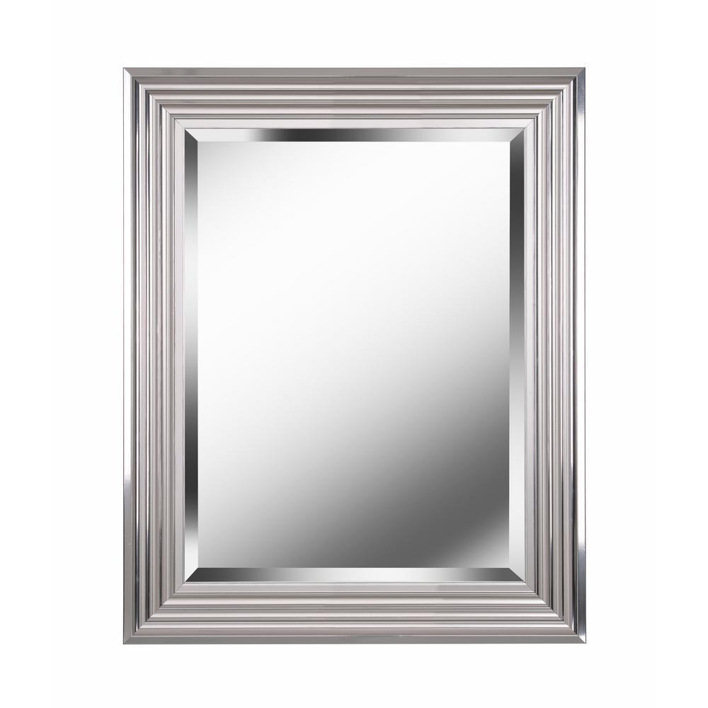 Lyonesse square Aluminum Decorative Wall Mirror