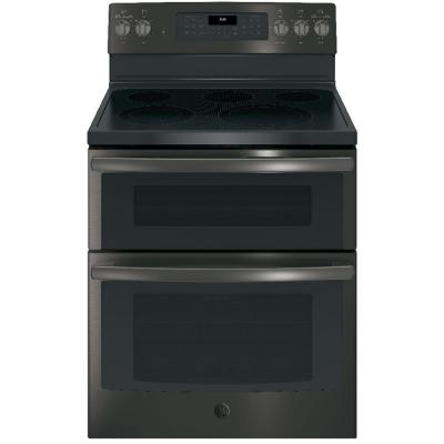 Double Oven Electric Range With Self Cleaning And Convection