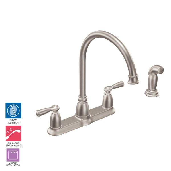Moen Banbury High Arc 2 Handle Standard