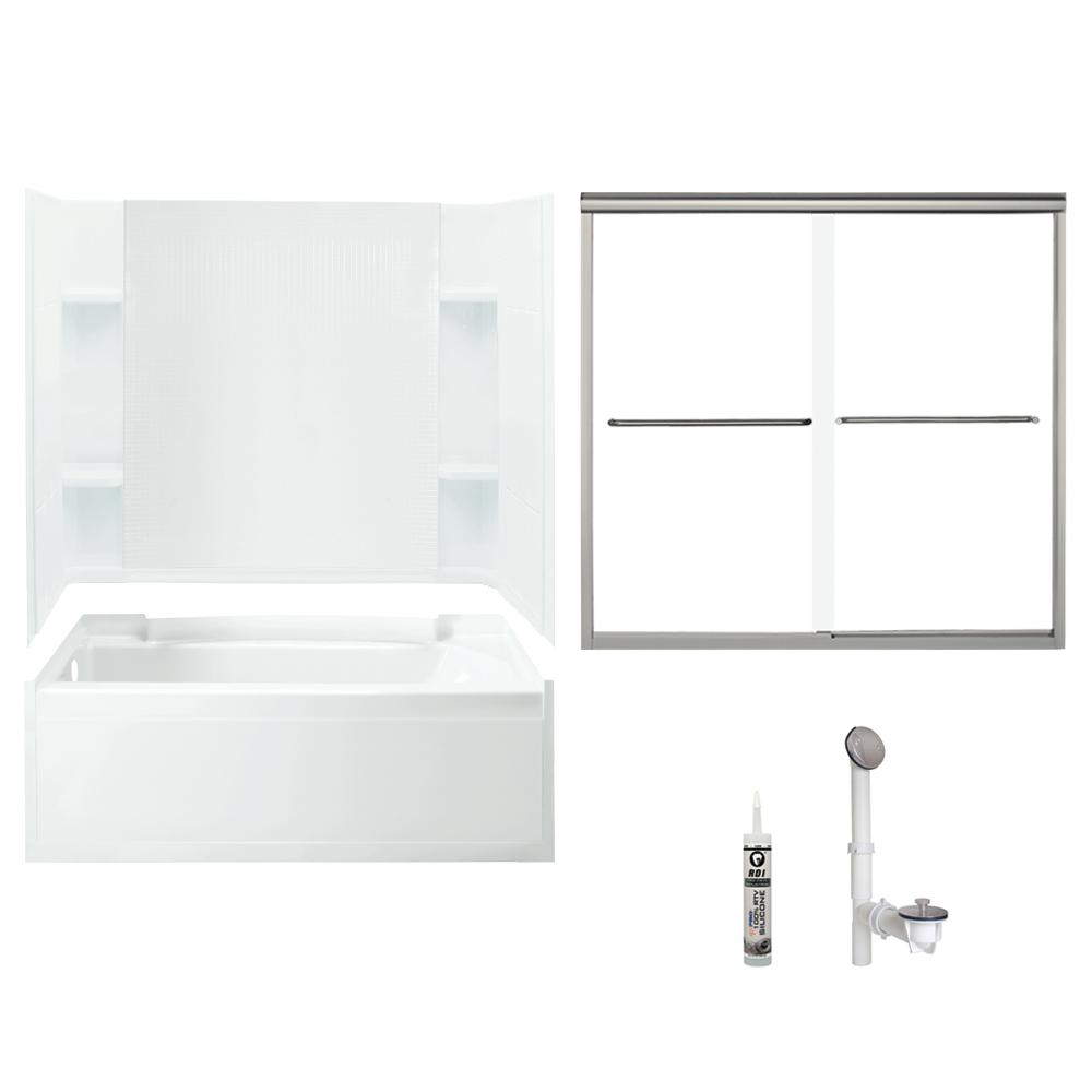 Sterling Accord 32 In X 60 In X 73 25 In Bath And