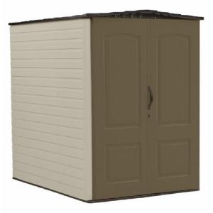 Rubbermaid Big Max 6 ft. 3 inch x 4 ft. 8 inch Resin Storage Shed by Rubbermaid