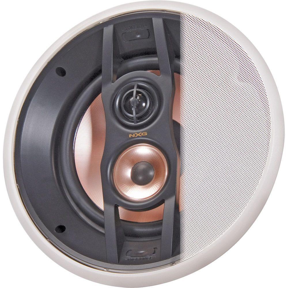 NXG Pro Series 8 in. 150-Watt 3-Way In-Ceiling Mounted Speaker System