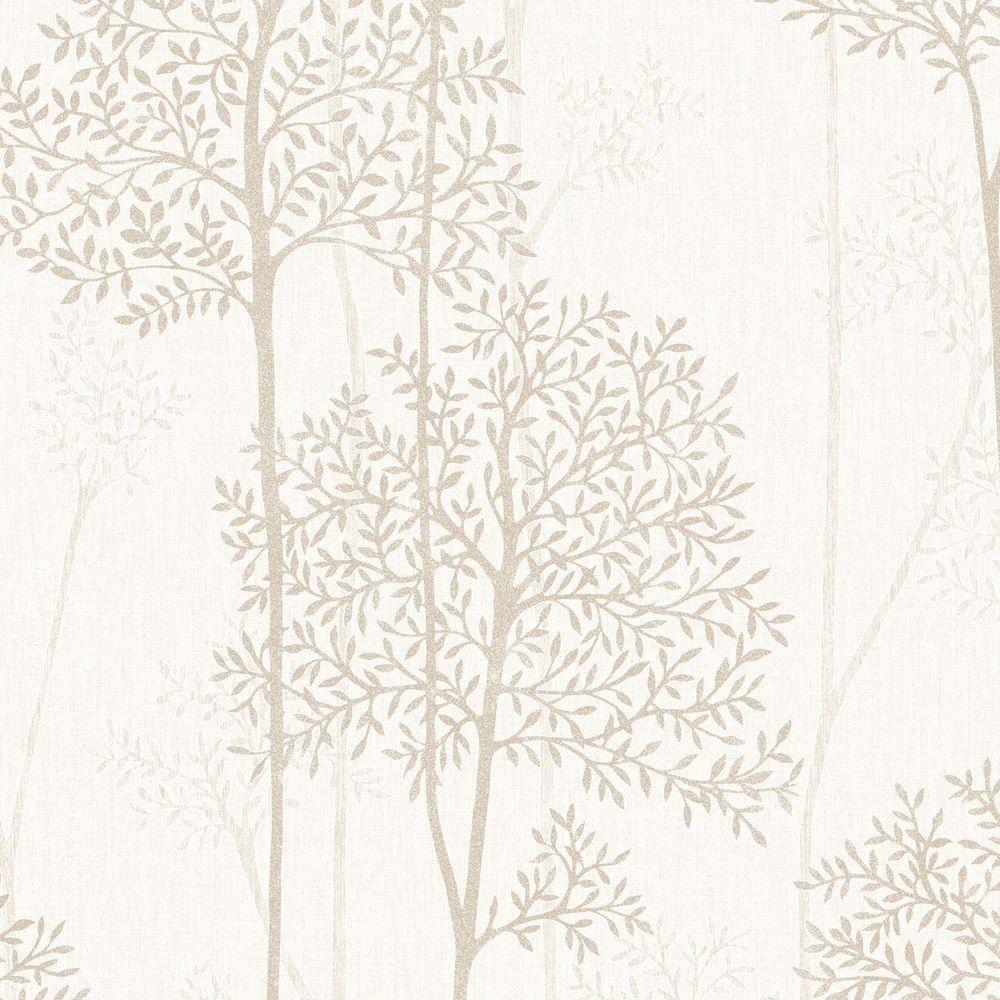 Graham & Brown Cream and Gold Eternal Wallpaper 33-291