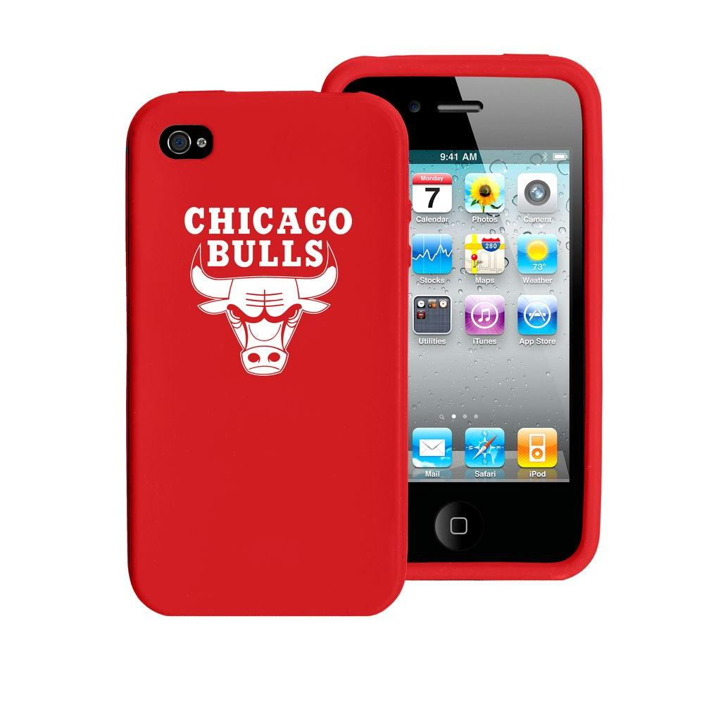 Tribeca Chicago Bulls iPhone 4 Silicone Case-DISCONTINUED