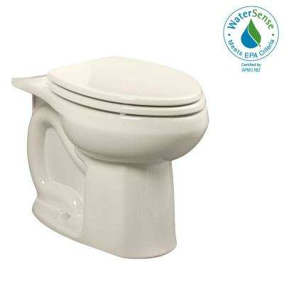 Colony Universal 1.28 GPF or 1.6 GPF Tall Height Elongated Toilet Bowl Only in Linen