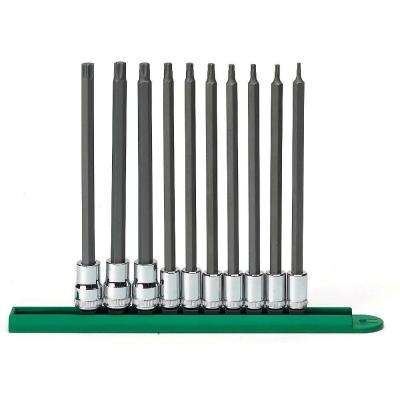 T8-T50 Long Torx Set (10-Piece)