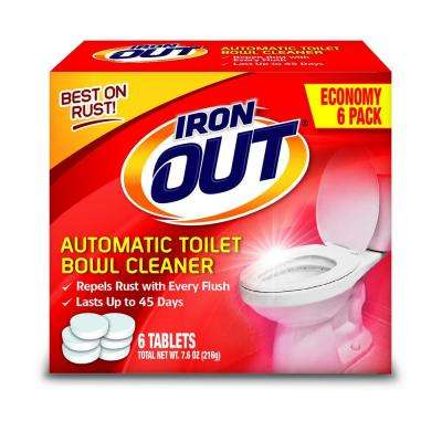 Super Iron Out 7.6 Oz. Automatic Toilet Bowl Cleaner (4-Pack)