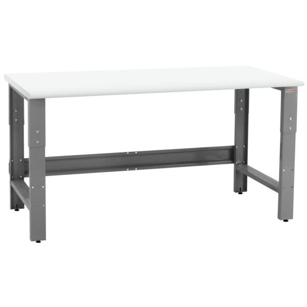 Roosevelt Series 2.5 ft. D x 6 ft. W LisStat Static Control Laminate 1,200 lbs. Capacity Workbench