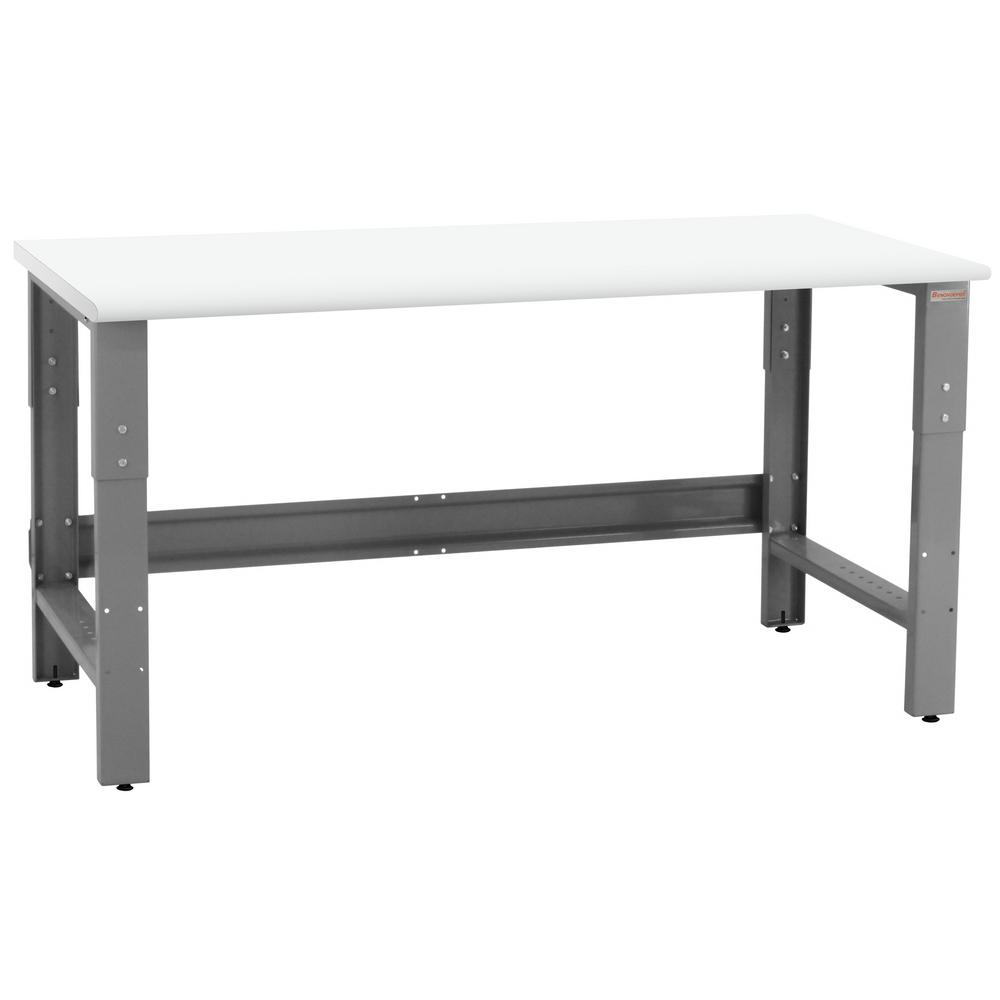 BENCHPRO Roosevelt Series 2.5 ft. D x 6 ft. W LisStat Static Control Laminate 1,200 lbs. Capacity Workbench