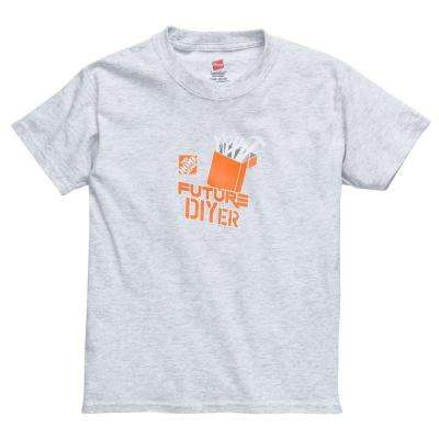 Youth Extra Small Gray T-Shirt