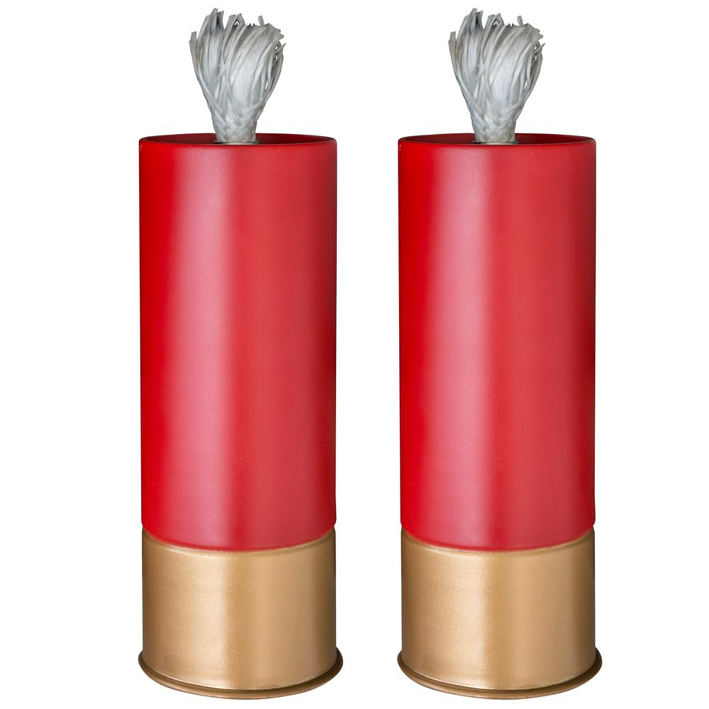 Shotgun Shell Patio Torch (2-Pack)