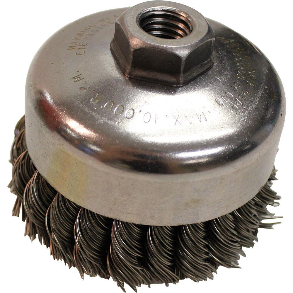 Makita 4 in. Knot Wire Cup Brush