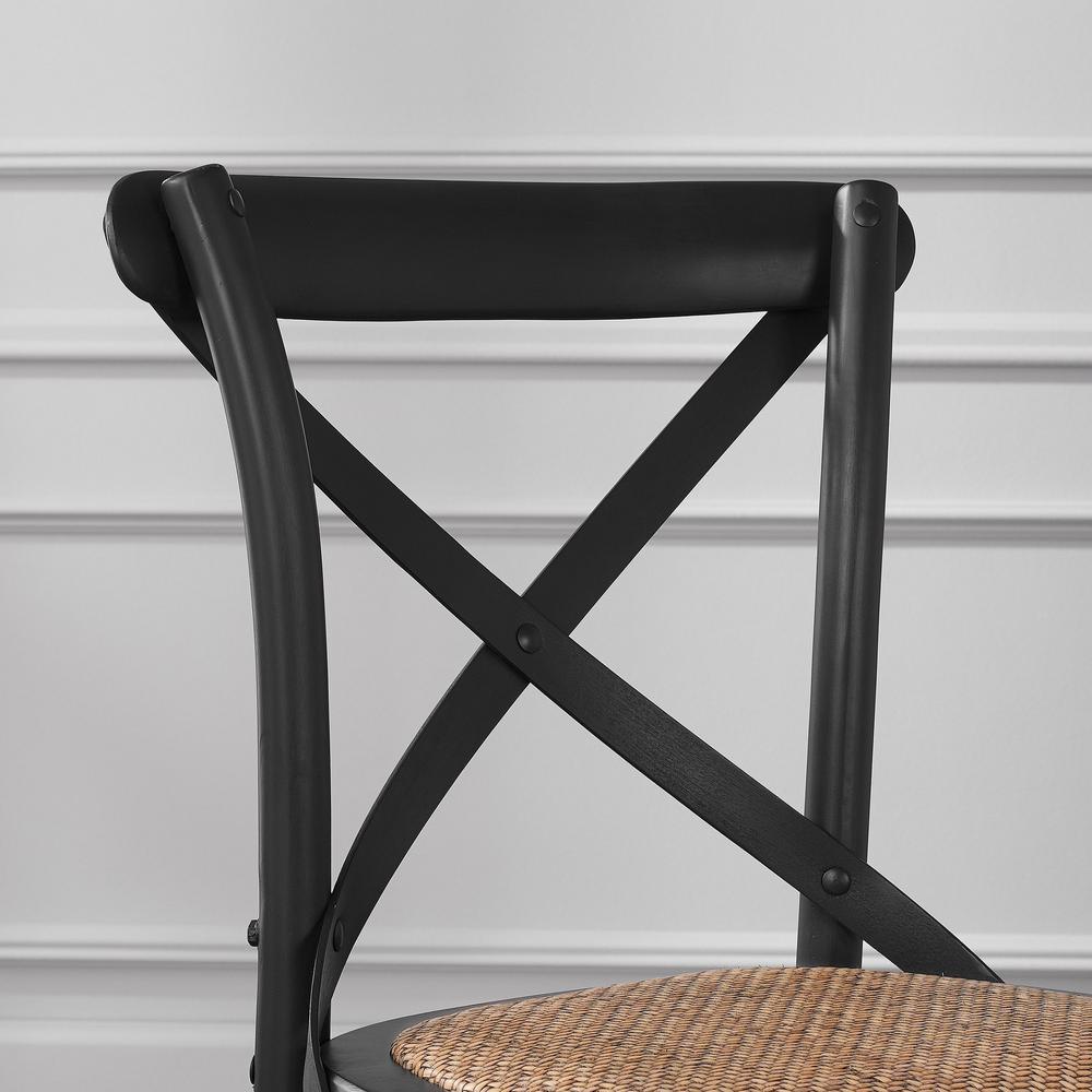 Incredible Home Decorators Collection Mavery Black Wood Counter Stool Spiritservingveterans Wood Chair Design Ideas Spiritservingveteransorg