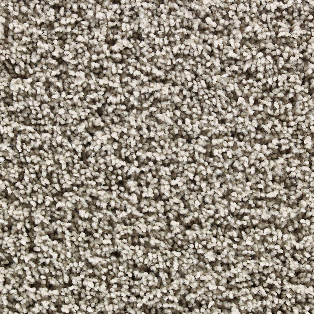 Martha Stewart Living Fitzroy House Gray Squirrel - 6 in. x 9 in. Take Home Carpet Sample-DISCONTINUED