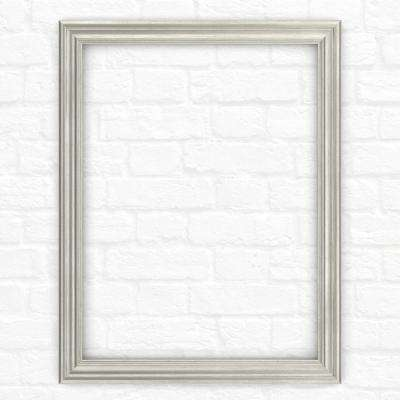 23 in. x 33 in. (S2) Rectangular Mirror Frame in Vintage Nickel