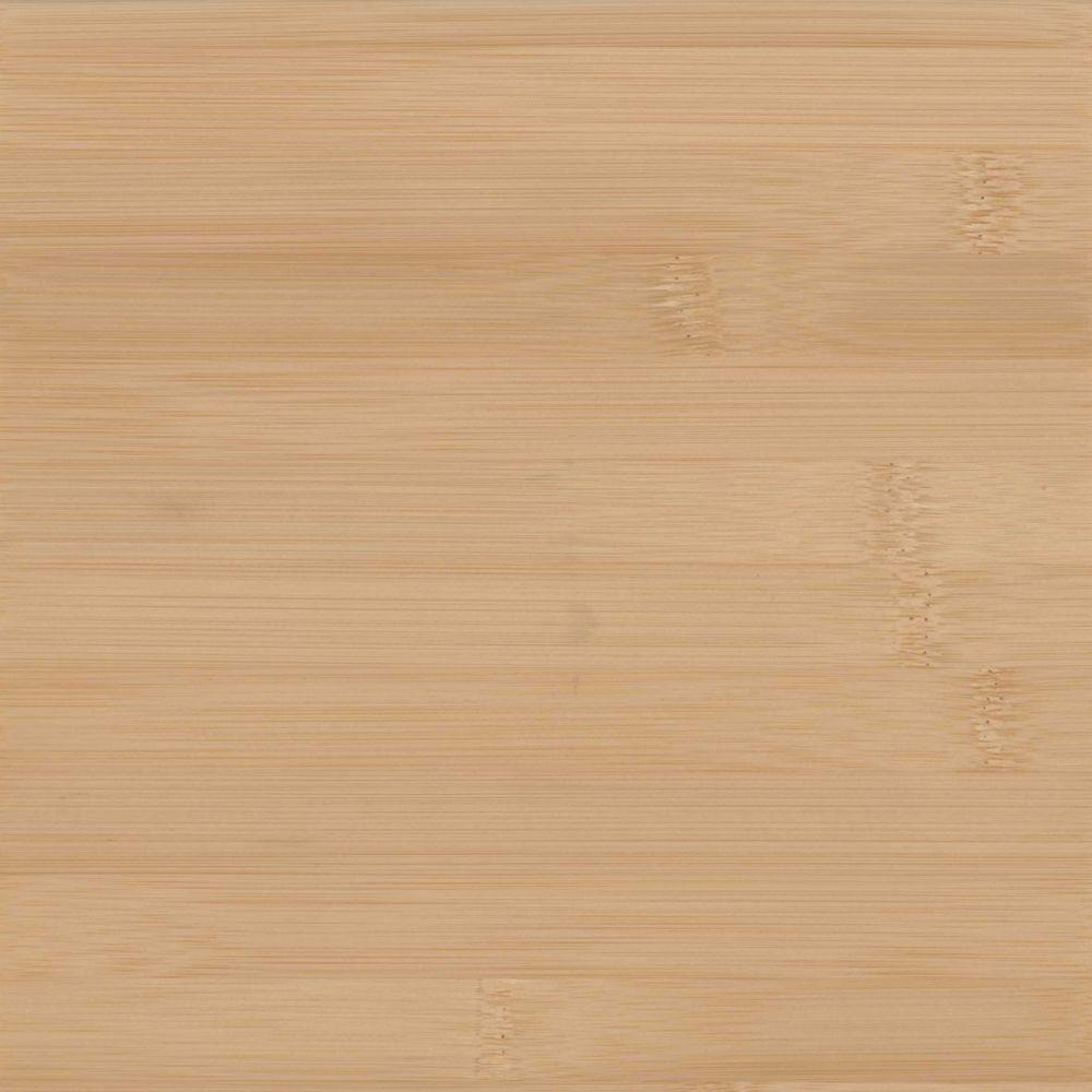 Superb Wood Countertop Sample In Natural Bamboo Plank