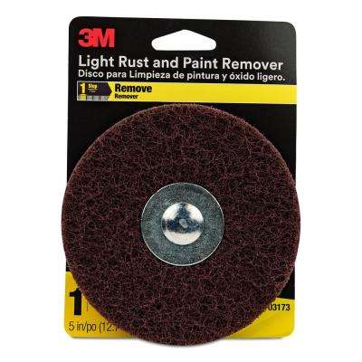 5 in. Light Rust and Paint Remover Coarse Grit (Case of 2)