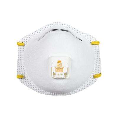 N95 Drywall Sanding Valve Respirator Dust Mask (2-Pack) (Case of 6)