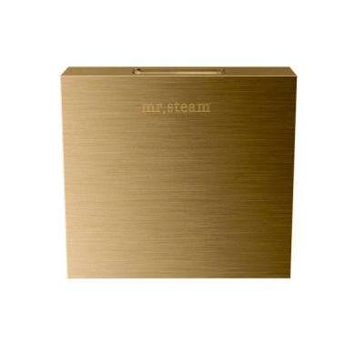 Replacement AromaSteam Square 3 in. Steam Head in Brushed Bronze for iTempo/iTempo Plus