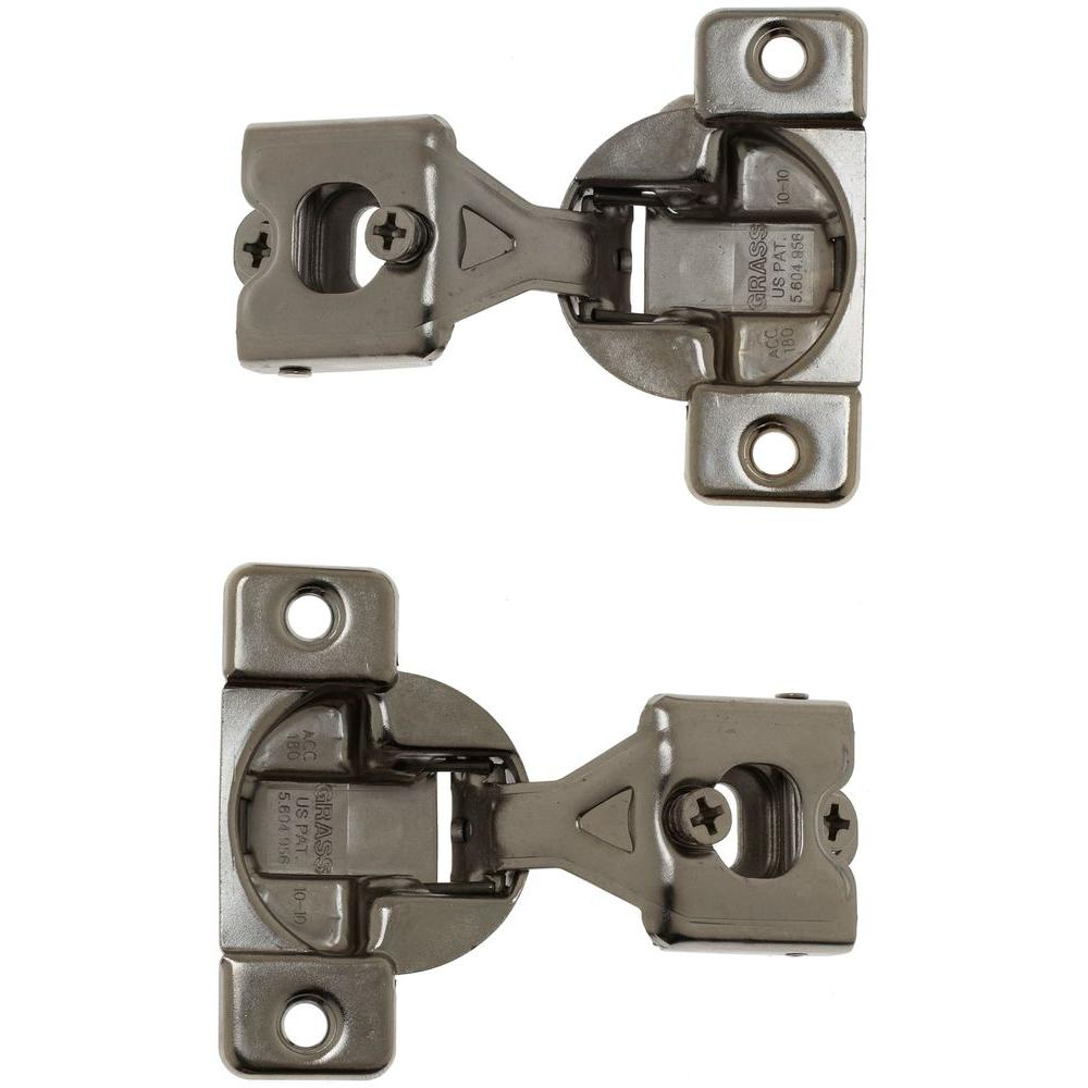 KOHLER 1 in. x 1 in. Medicine Cabinets Hinge (2-Pack)-1115118 - The ...